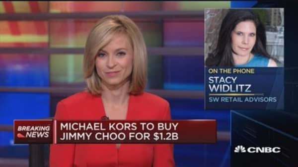 Michael Kors to buy Jimmy Choo for $1.2B