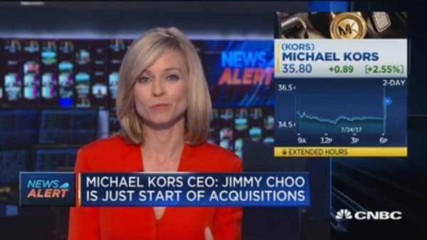 Michael Kors: Jimmy Choo just the start of aquisitions
