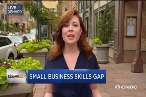 Small business owners fell impact of skills gap