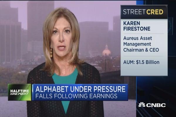 Alphabet didn't signal a strong buy: Aureus Asset's Kari Firestone