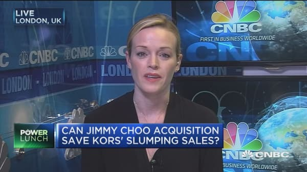 Michael Kors buying Jimmy Choo gives them exposure to luxury market: Coye Noke