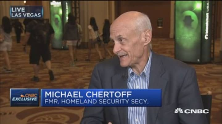 Full interview with Michael Chertoff