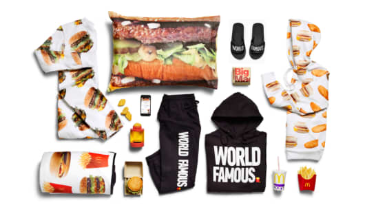 McDonald's is now offering McDelivery-themed clothing