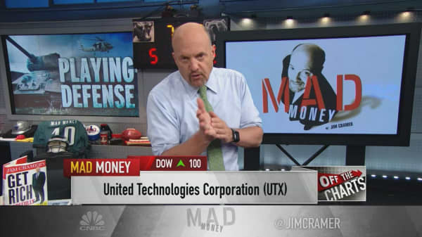 Cramer spots opportunity in one defense contractor's charts