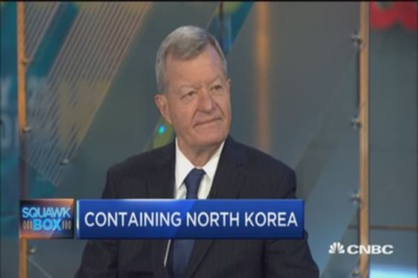 Fmr. Sen.Max Baucus: North Korea's Kim Jong Un is not a 'nutcase'