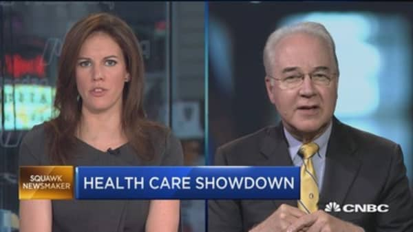 Sec. Tom Price: Difference between single-payer system and health-care selection