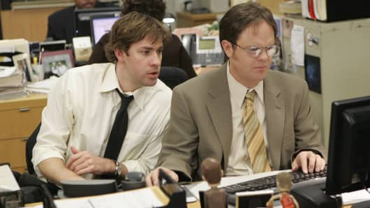 """Scene from NBC's """"The Office"""""""