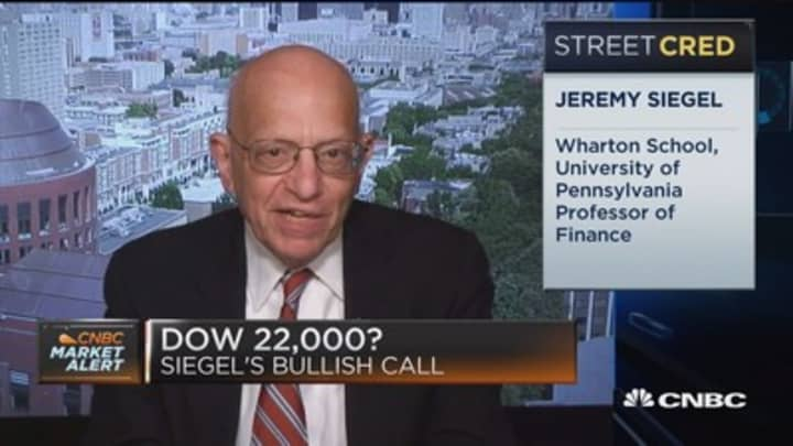 We shouldn't have as much short run volatility in the market: Wharton School's Jeremy Siegel