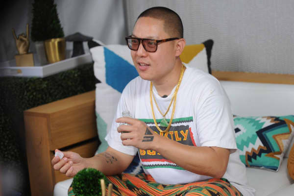 Eddie Huang attends OZY FEST 2017