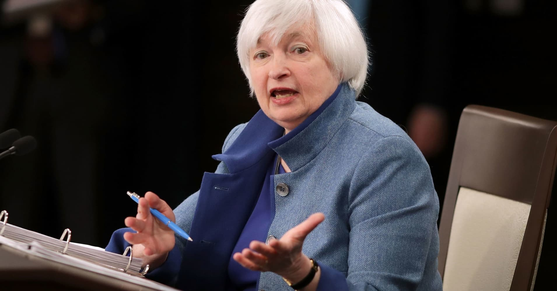 Janet Yellen says it's 'very possible' the Fed has made its last rate hike of this cycle