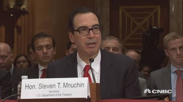 Mnuchin questions Amazon's taxes on marketplace