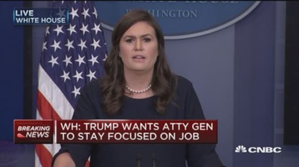 Sarah Sanders: National security team was part of transgender decision