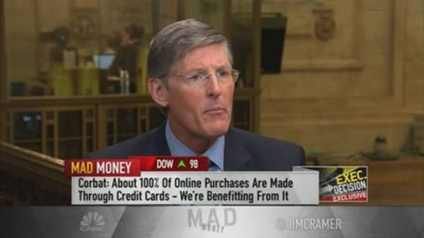 Citigroup CEO touts the $100 billion goldmine Citi took from American Express