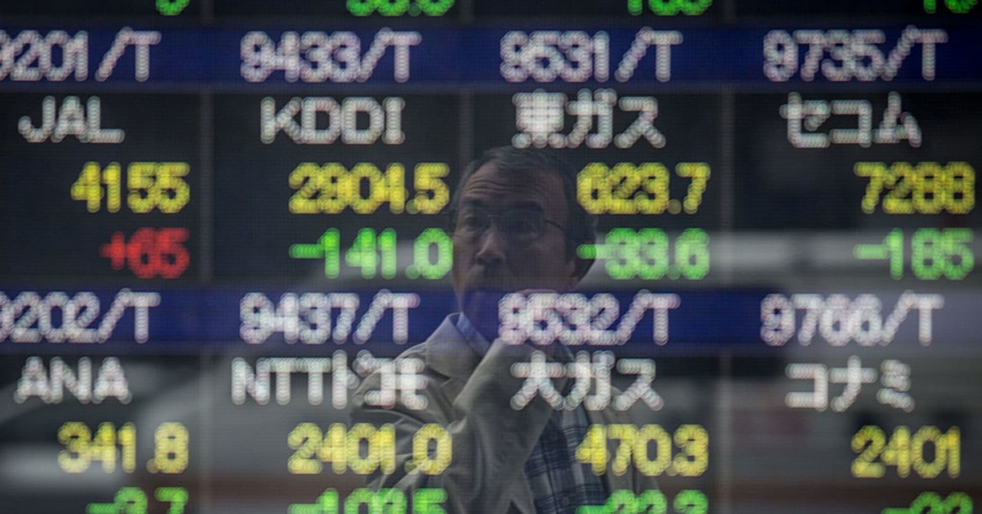 Stocks in Asia decline, tracking losses seen on Wall Street after Tillerson ouster