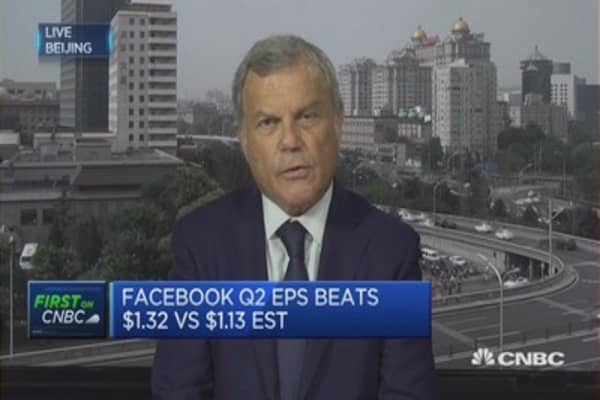 China is becoming a technological power: WPP's Sorrell