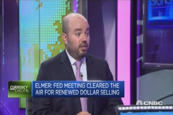 What's driving the dollar lower?