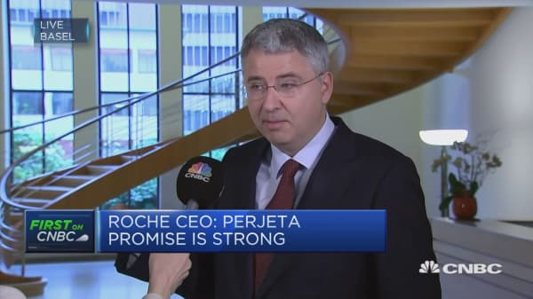 Roche CEO on company's successful first half earnings