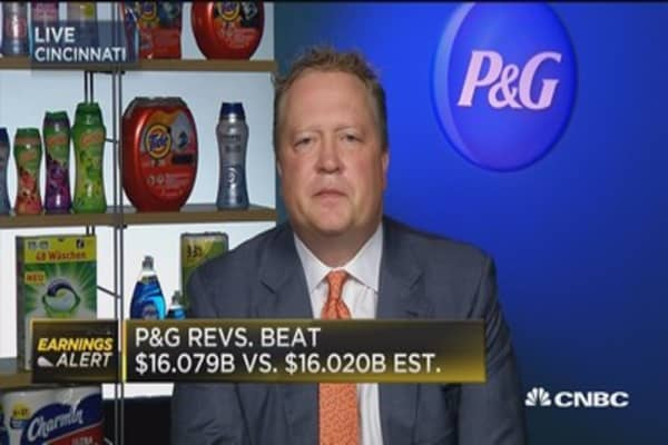 P&G CFO: Our best days are ahead of us