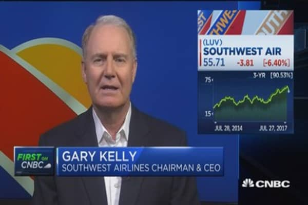 Southwest CEO: Earnings in line with our expectations