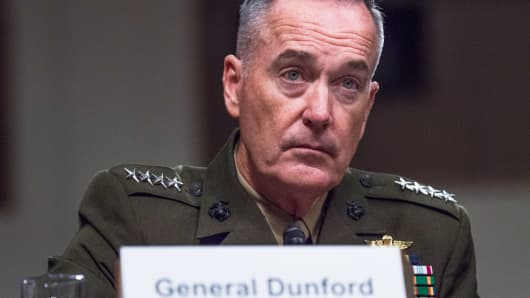 Joint Chiefs of Staff Gen. Joseph Dunford