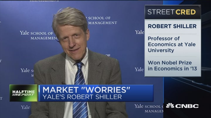 Yale's Robert Shiller: People are worried about technology and their job