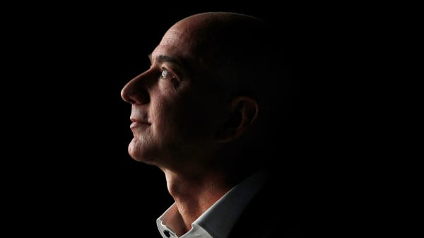 Here's how Amazon stock made Jeff Bezos the world's richest man