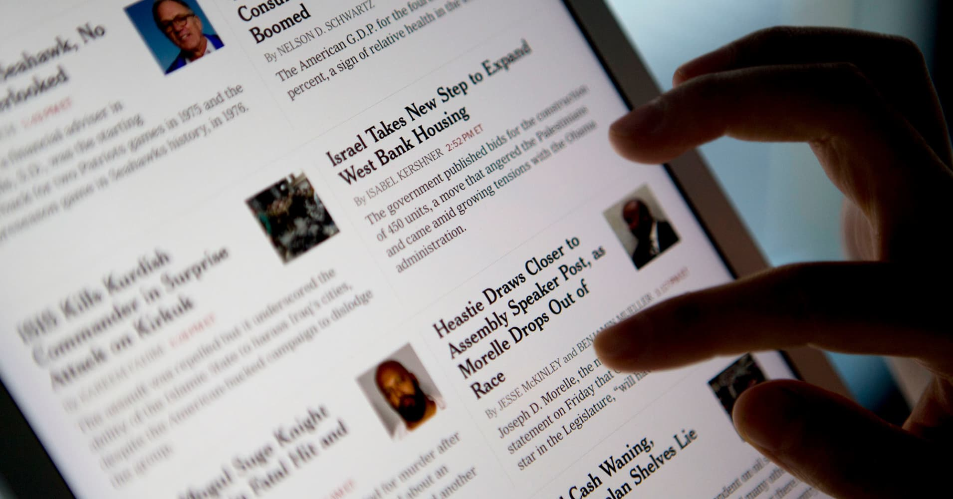 Op-Ed: It's not Such a Crazy Idea for the New York Times to Go all Digital