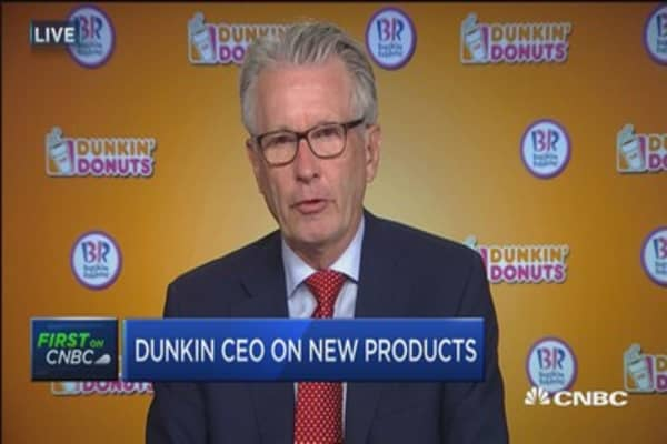 Dunkin' CEO Nigel Travis: We're giving the consumer everything they'l looking for