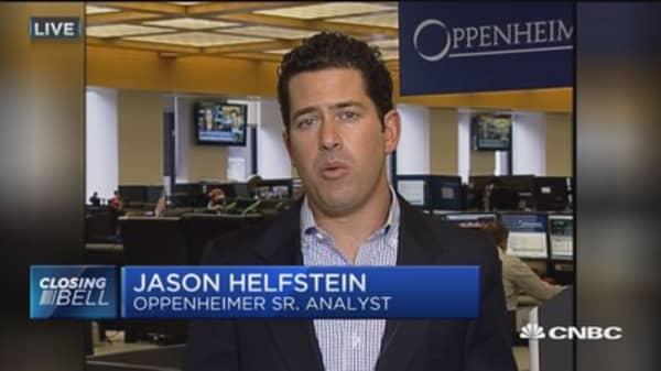 Amazon revaluation grew from cloud services: Oppenheimer's Jason Helfstein