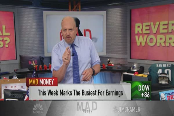 Cramer's playbook for turning the market sell-off to your advantage