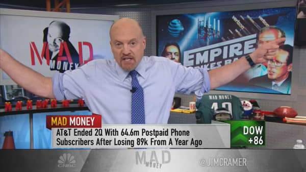 Cramer: These 2 storied telecom empires are striking back