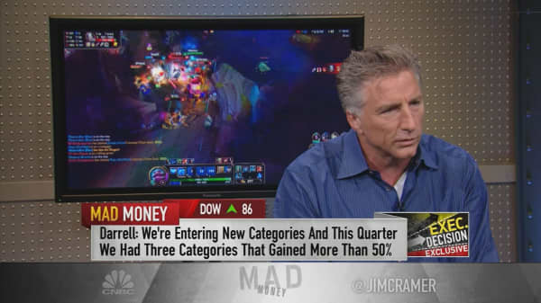 eSports gamer & Logitech CEO: 'Explosion' in billion-dollar gaming industry