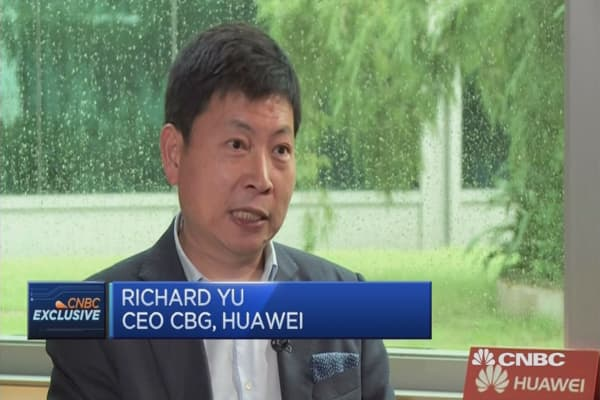 Huawei is targeting the high-end segment