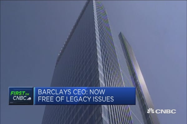 Barclays CEO: Consumer indebtedness 'something we are mindful of'