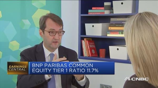 BNP Paribas CFO: We'll adapt to shifting interest rates