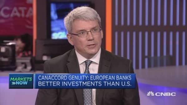 European banks are better investments than US: Canaccord Genuity