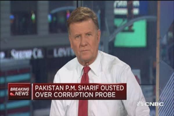 Pakistan's Supreme Court ousts PM Nawaz Sharif