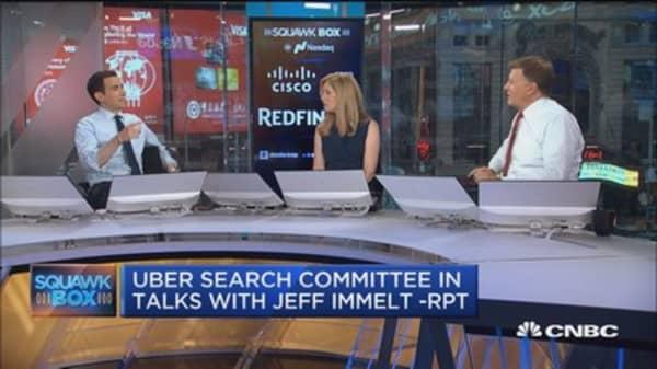 Meg Whitman says she won't be Uber CEO