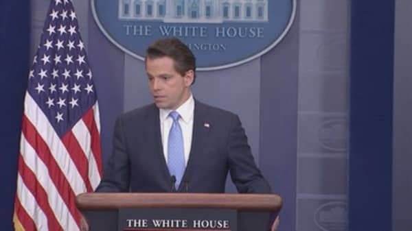 Scaramucci unleashes profanity-filled rant against fellow Trump aides Priebus, Bannon