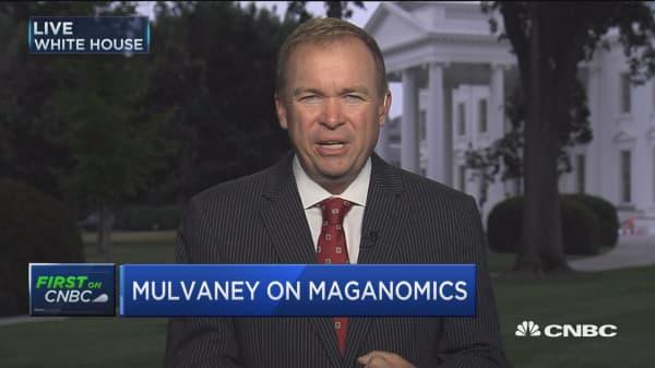 OMB's Mick Mulvaney: Health-care vote hurts MAGAnomics