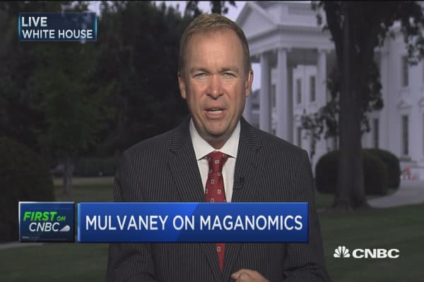 OMB's Mick Mulvaney: Health-care vote hurts MAGAnomics