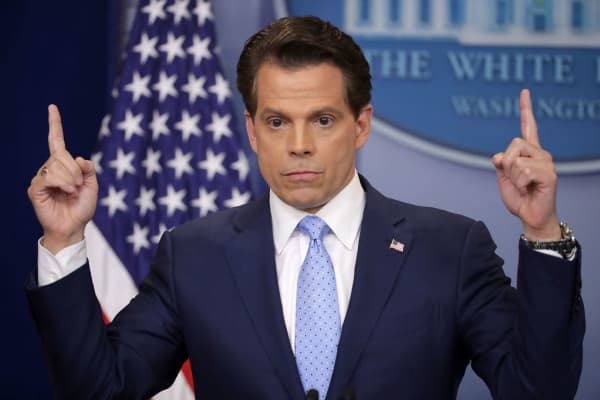 Anthony Scaramucci, White House communications director