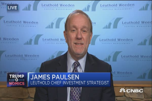 Jim Paulsen: Markets pricing 'virtually nothing' in on Trump agenda anymore