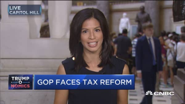 GOP takes up tax reform following health-care failure