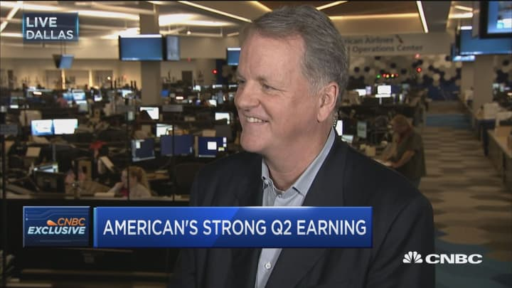 American Airlines CEO Doug Parker: We're fighting like crazy on Qatar Airlines
