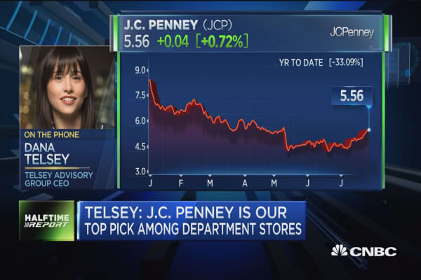 Telsey Advisory's Dana Telsey: J.C. Penney is top pick among department stores