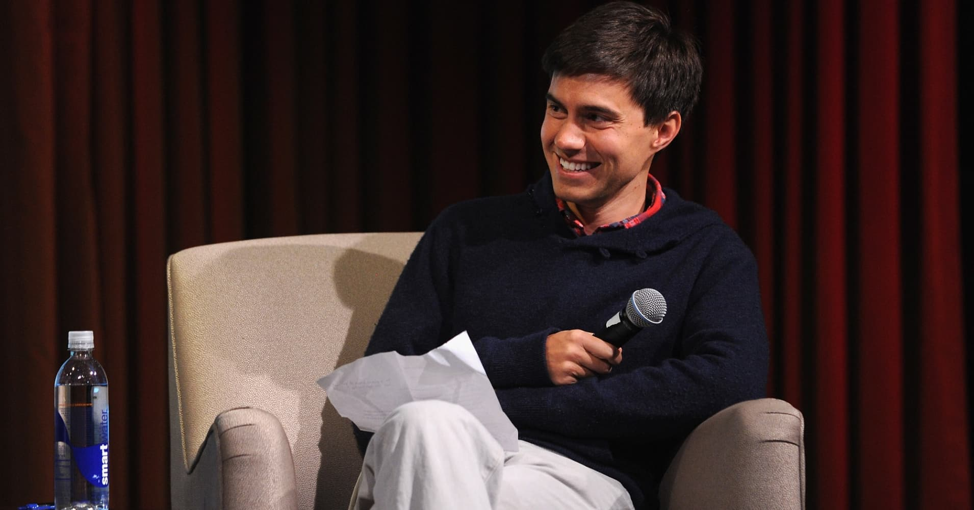 Ricky Van Veen is the co-founder of CollegeHumor and Facebook's head of content strategy