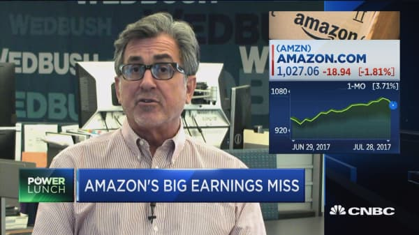 As long as Amazon investments turn into growth, investors will be tolerant: Wedbush Securities