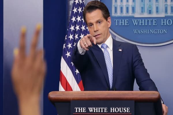 Post 'New Yorker' rant, this video of Anthony Scaramucci on choosing your words is amazing