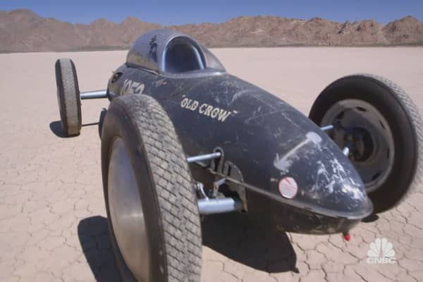 How this car earned the the nickname 'the flying guillotine'